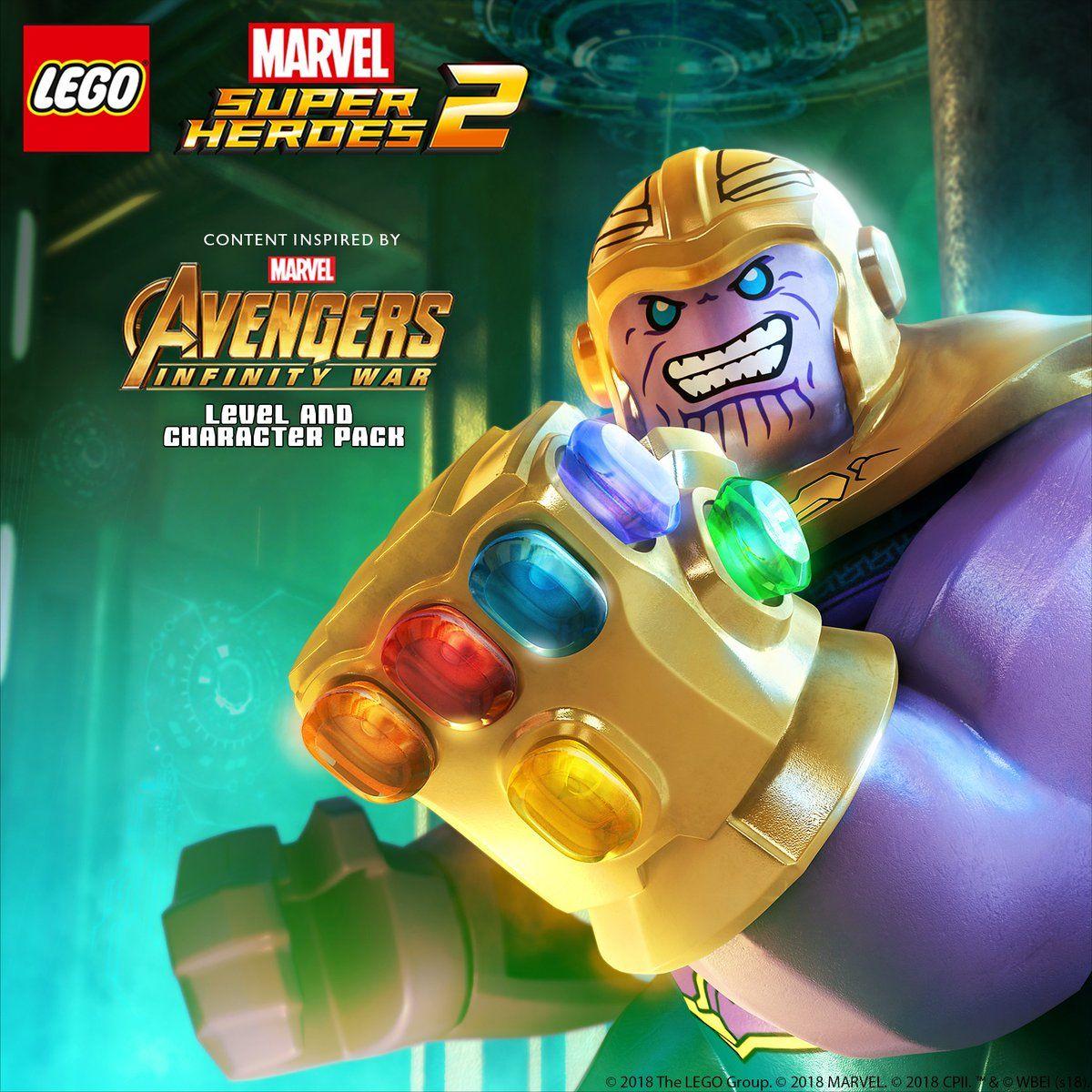 Lego marvel super heroes 2 avengers infinity war dlc promo art