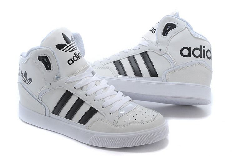 Adidas Women Men Originals Extaball High Top Leather ...