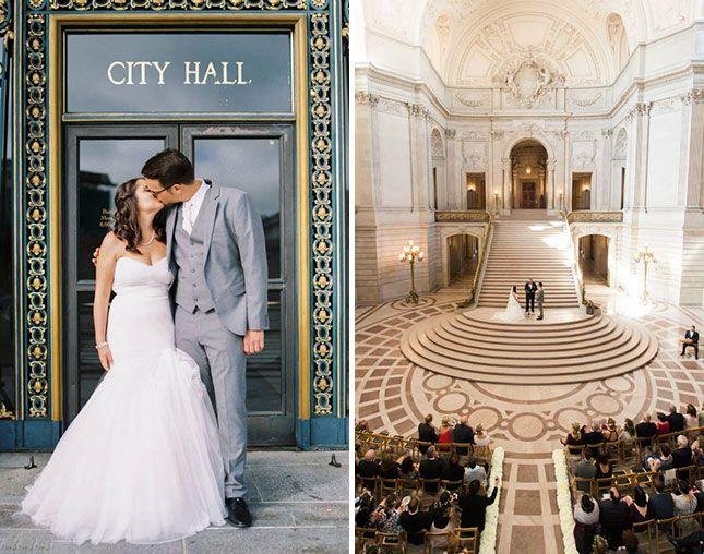 15 Drop Dead Gorgeous City Hall Weddings Courthouse Wedding City Hall City Hall Wedding