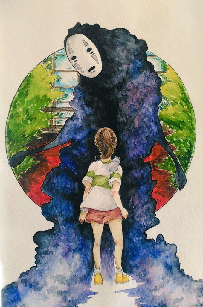 Studio Ghibli's Spirited Away Studio Ghibli Pinterest