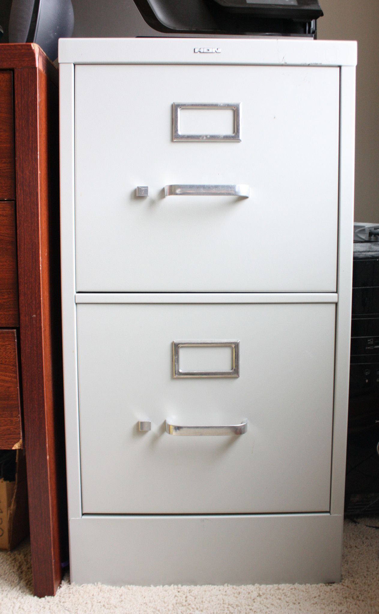 Amazing Faux Zinc Finish On Metal File Cabinets   Meadow Lake Road Pictures Gallery