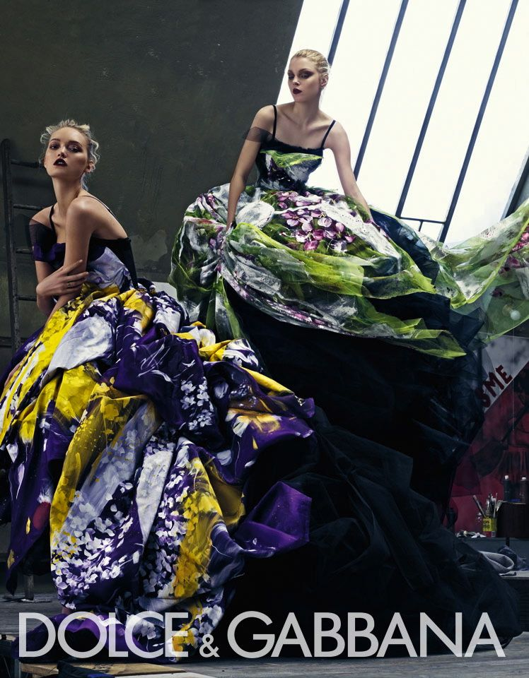 Dolce & Gabbana S/S 2008 campaign by Steven Klein
