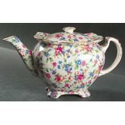 This is my grandma's china pattern!  I would love this teapot.  It only sells for $800!! Royal Winton Old Cottage...