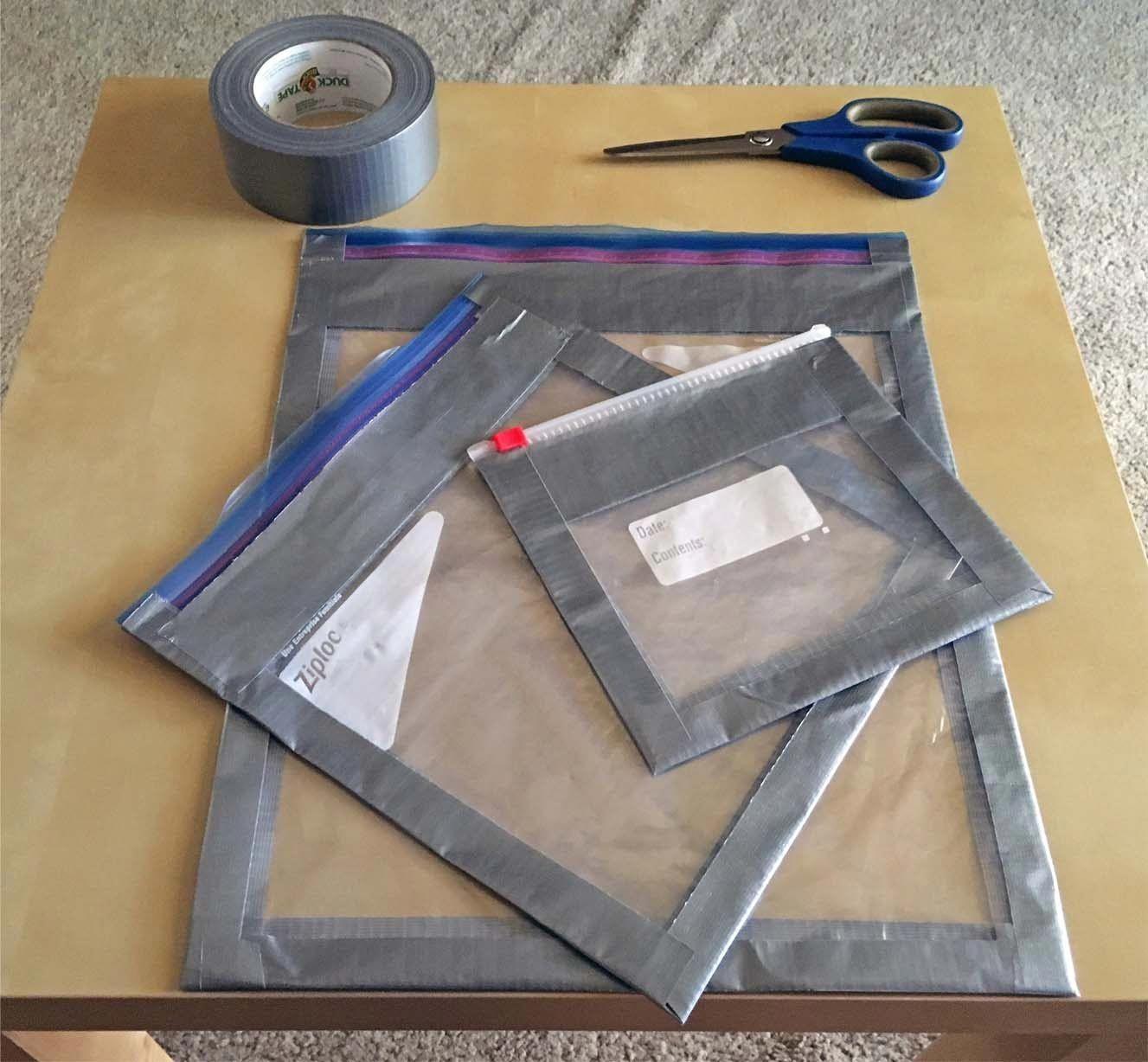 DIY Ziploc Reinforced Packing Cube For Ultralight
