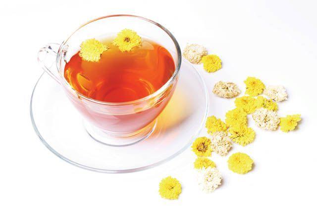 залив чай