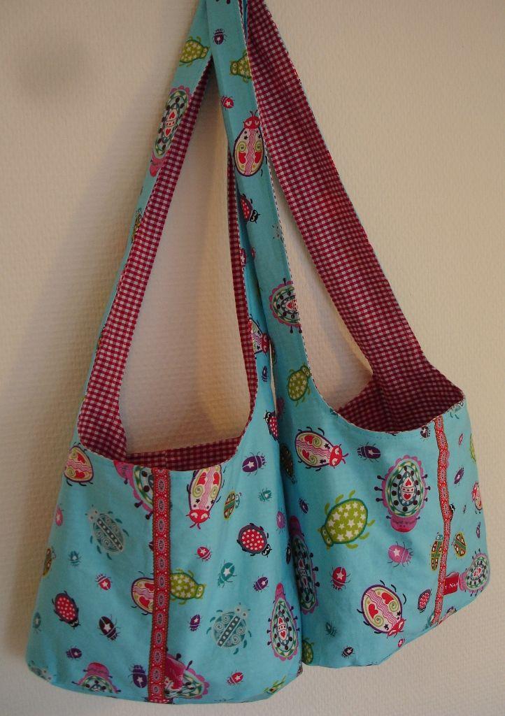 t Naaikamertje: Umhängetasche für kinder | Taschen