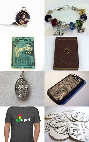 Gospel by altina silverson on Etsy--Pinned with TreasuryPin.com