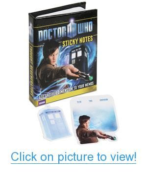 Doctor Who Sticky Notes Home Office Geeky Supplies