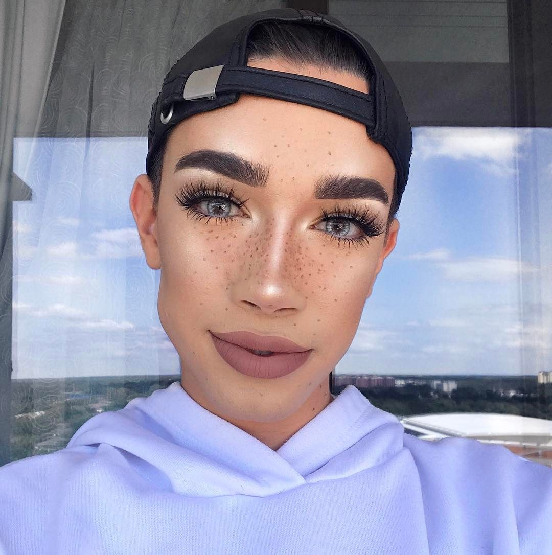 James Charles Used a Fidget Spinner to Contour, and, Of Course, His Makeup Looked Flawless from InStyle.com