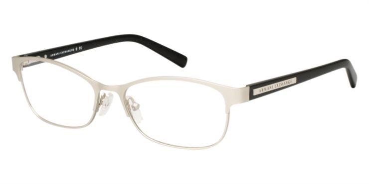 df37c31412 Armani Exchange AX1010 Silver Eyeglasses