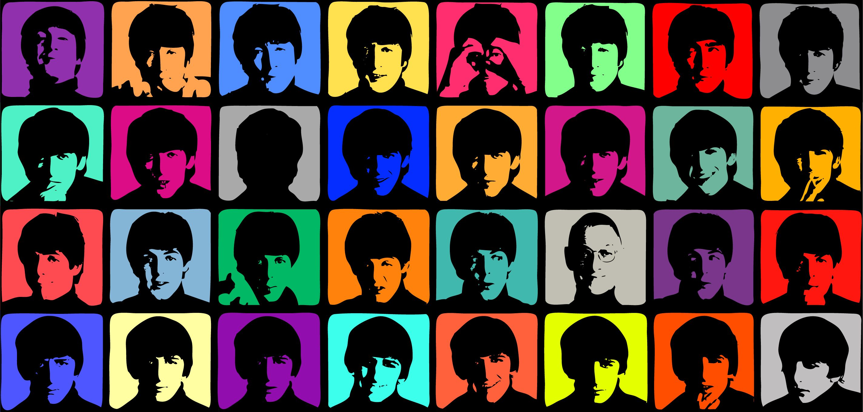 Explore The Beatles Pop Art And More