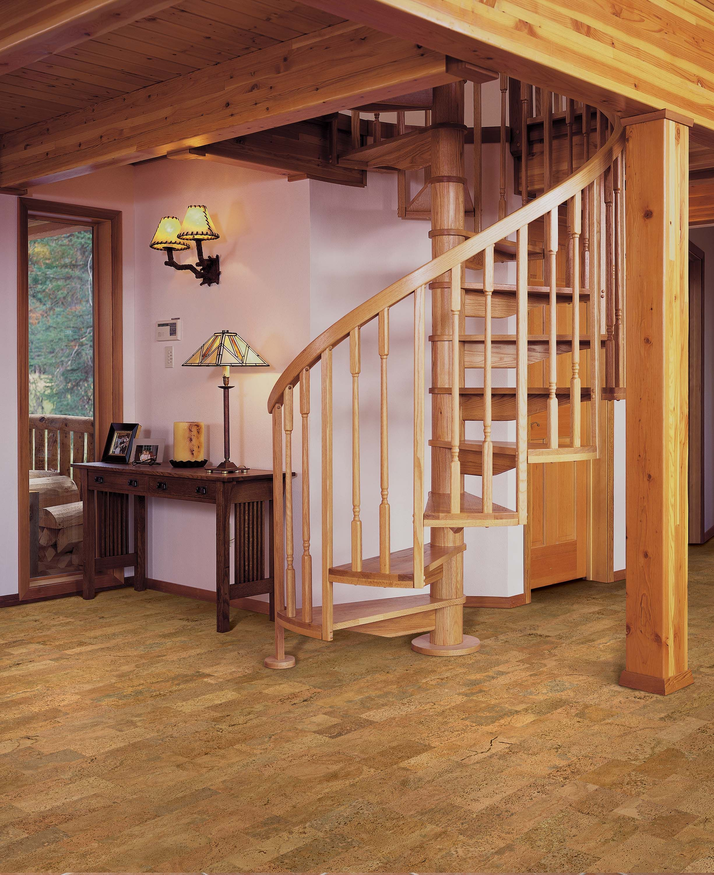 Traditional square edge Natural Cork floating floors