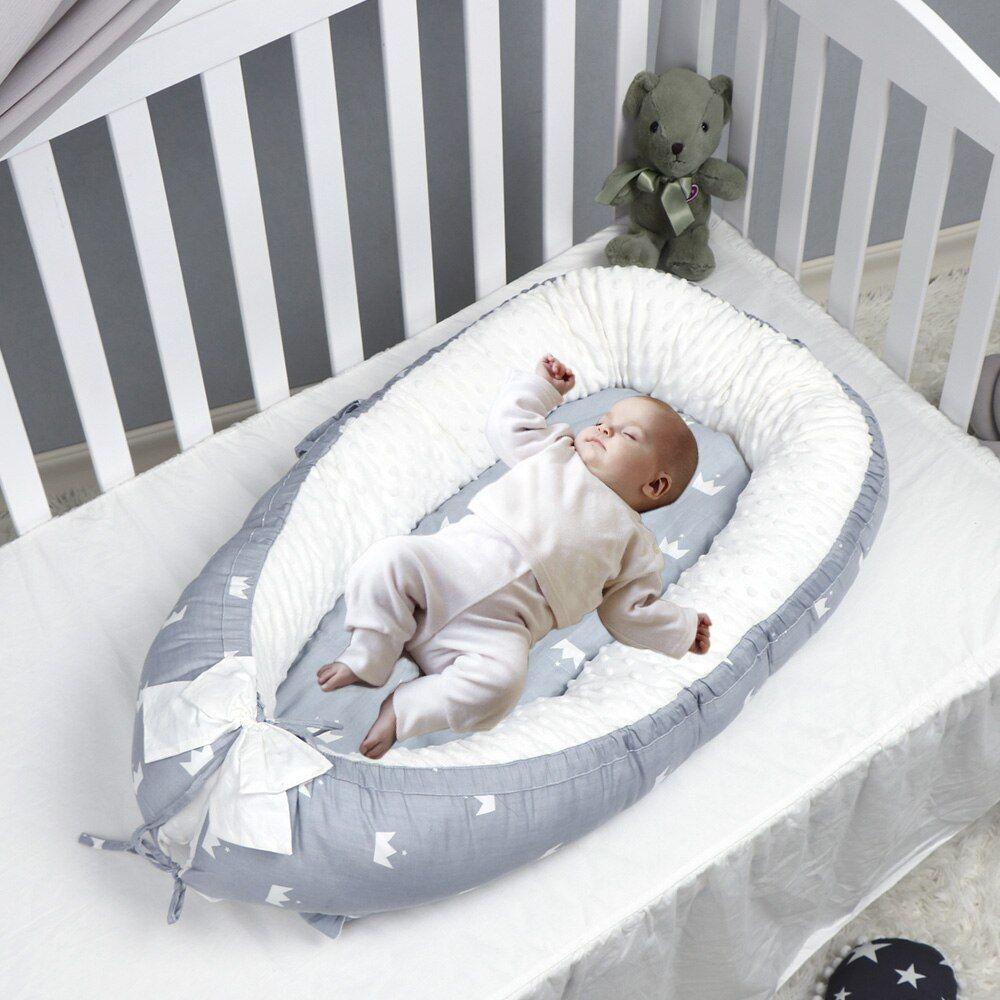 Baby Nest Bed Portable Crib Travel Bed Infant Toddler Lounger Ninho Bebe Baby Bassinet Bed Baby In 2020 Nest Bed Bedding Set Bed