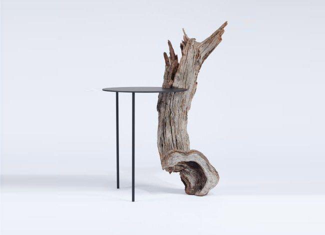 Tomás Alonso, trouve le regard du bois plus attrayant et intrigant