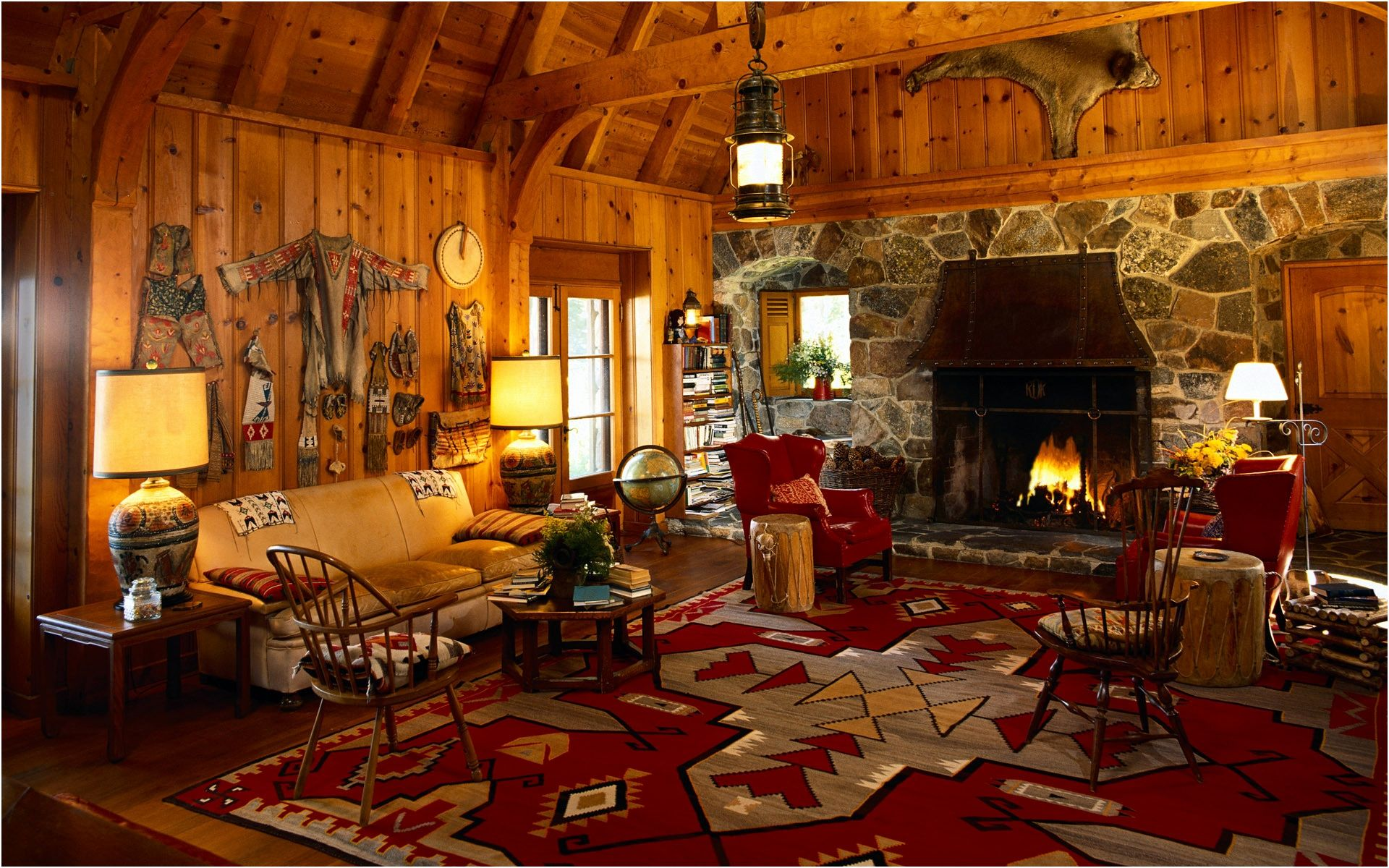 Log Cabin Living Rooms Awesome Log Rustic Cabin Living Room with