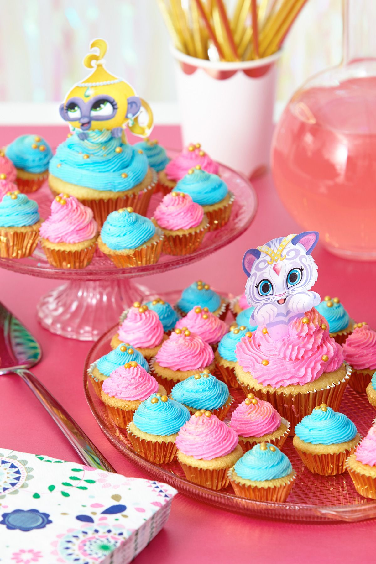 Shimmer And Shine Cupcake Toppers Shimmer And Shine