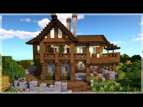 Minecraft How to Build a Me val House