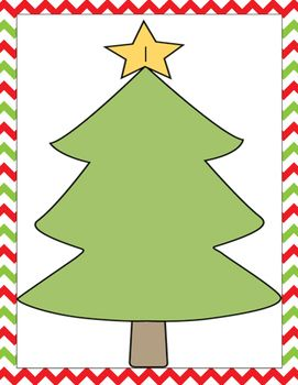 FREE!! Decorate the Christmas trees using different manipulatives. Each tree has a different number to make. 0-20