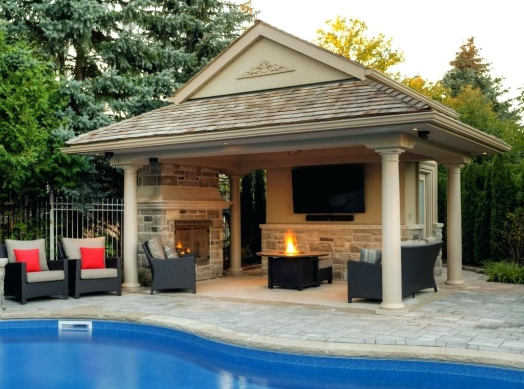 Pool House Designs Beautiful Antique