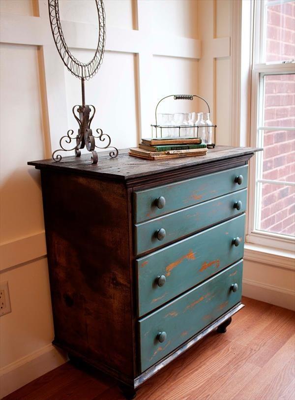 diy furniture makeover full tutorial. Diy Refurbished Pallet Chest Furniture Makeover Full Tutorial A