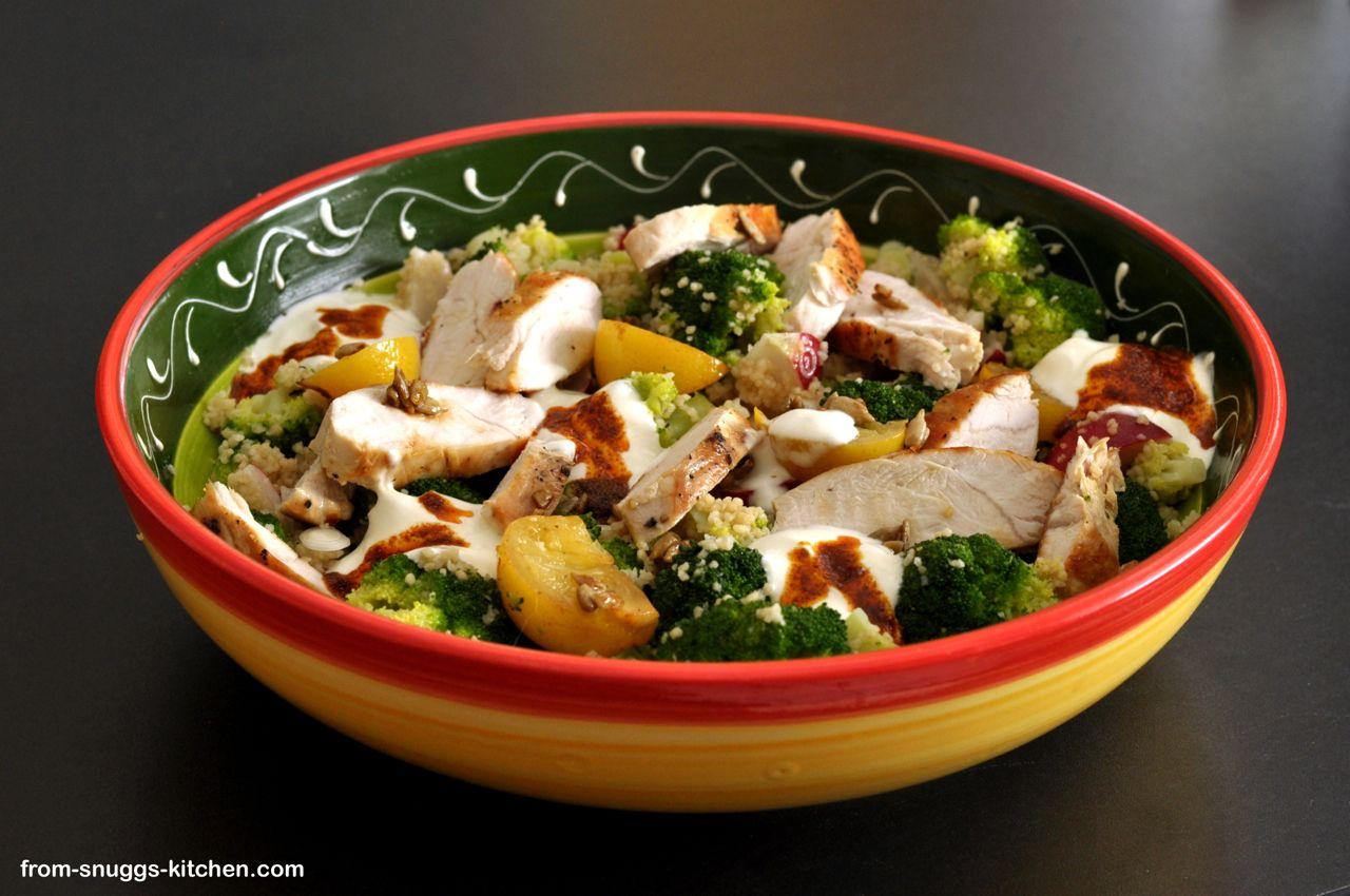 Couscous Salat Mit Hähnchen Alla Jamie Oliver Blogger Rezepte
