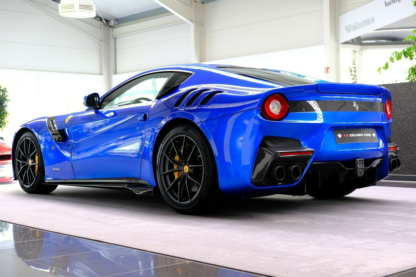 Ferrari F12 Tdf Tailor Made Limited Edition 1 Of 1 Rw Exclusive Germany For Sale On Luxurypulse In 2020 Ferrari F12 Tdf Ferrari F12 Ferrari