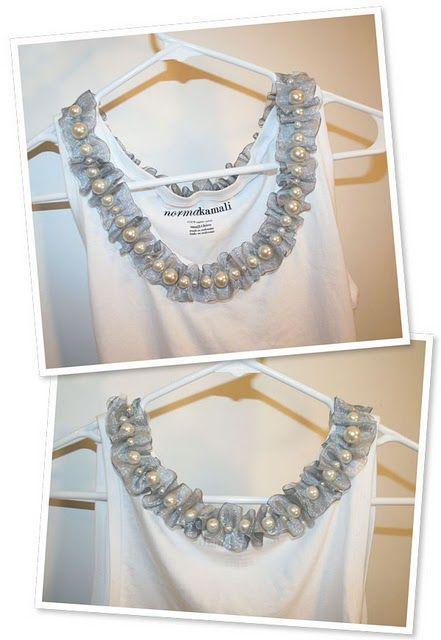 DIY: Ribbon Collar