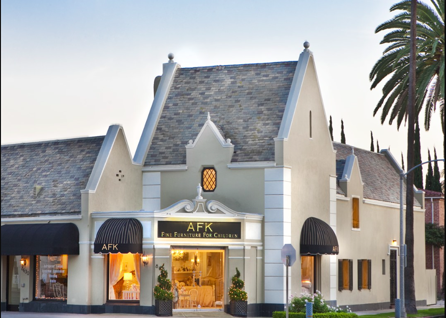 The Exterior Of Our Store In Beverly Hills | AFK Furniture | French  Furniture | Luxury