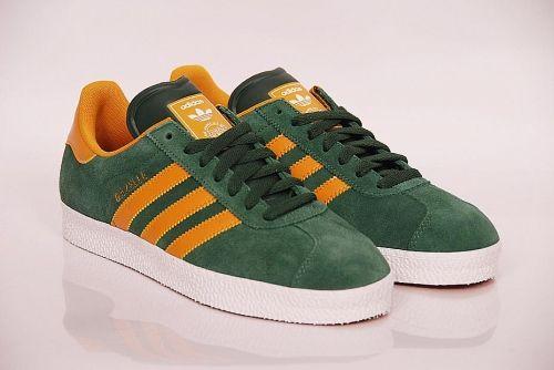 size 40 56e75 a235d adidas Originals - Gazelle 2 drkgreencragoldwhite (G63204) · Sneakers  AdidasMen SneakersSoccer ShoesAdidas ...