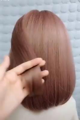 Для волос средней длины! #coiffure