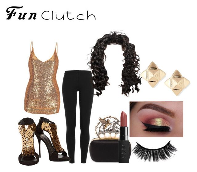 """Clutch2"" by slicchoney on Polyvore featuring Polo Ralph Lauren, Giuseppe Zanotti, Alexander McQueen and Valentino"