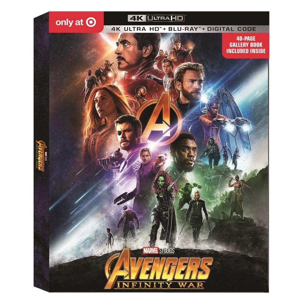 Marvel Avengers: Infinity War Bundle (4K/UHD + Blu-ray +