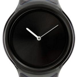 Total black minimalist watch