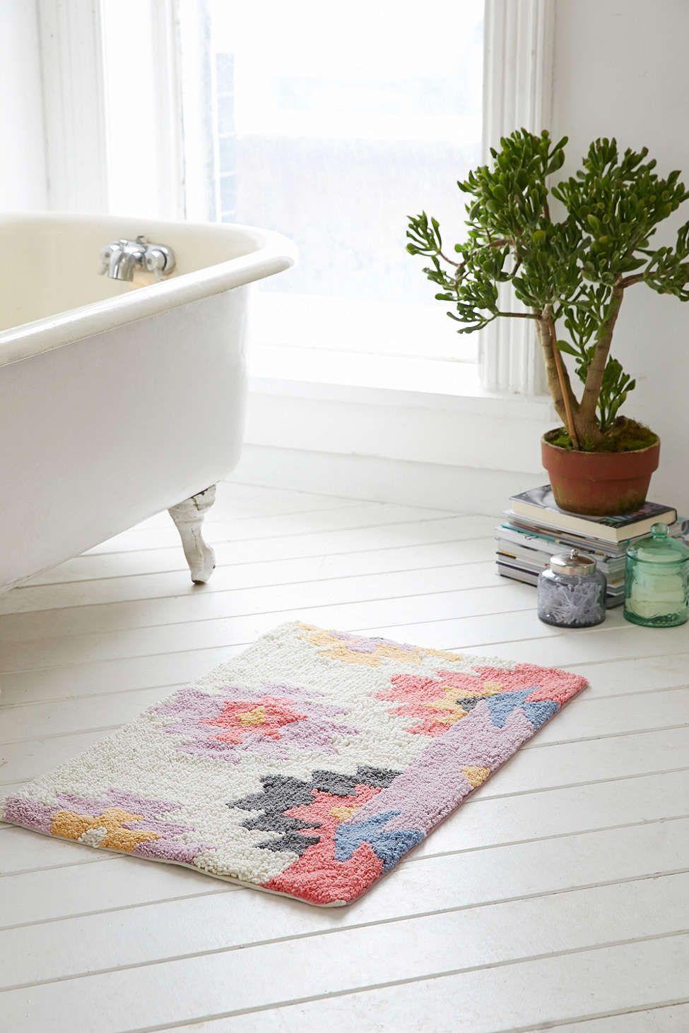 Plum Amp Bow Samia Kilim Bath Mat Our Home Bath Decor