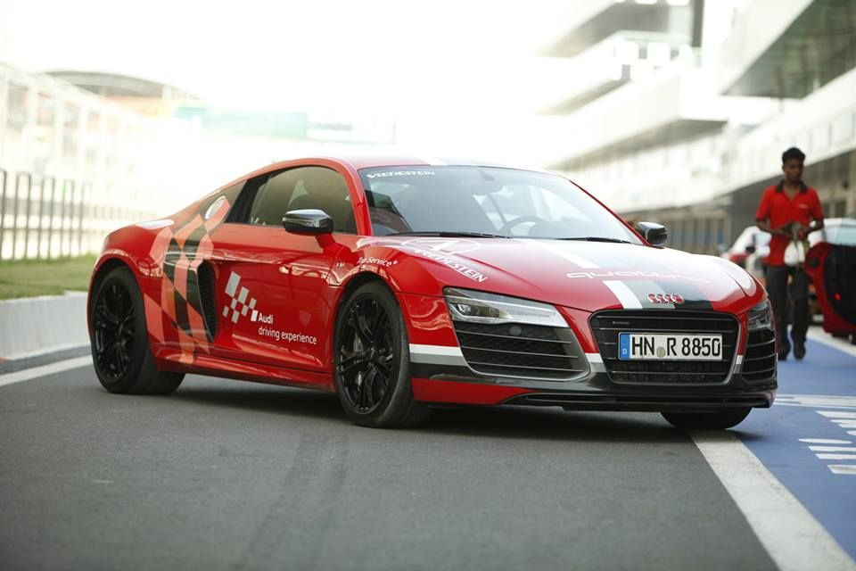 The Audi R8 V10 Plus the fastest Audi super sportscar in production