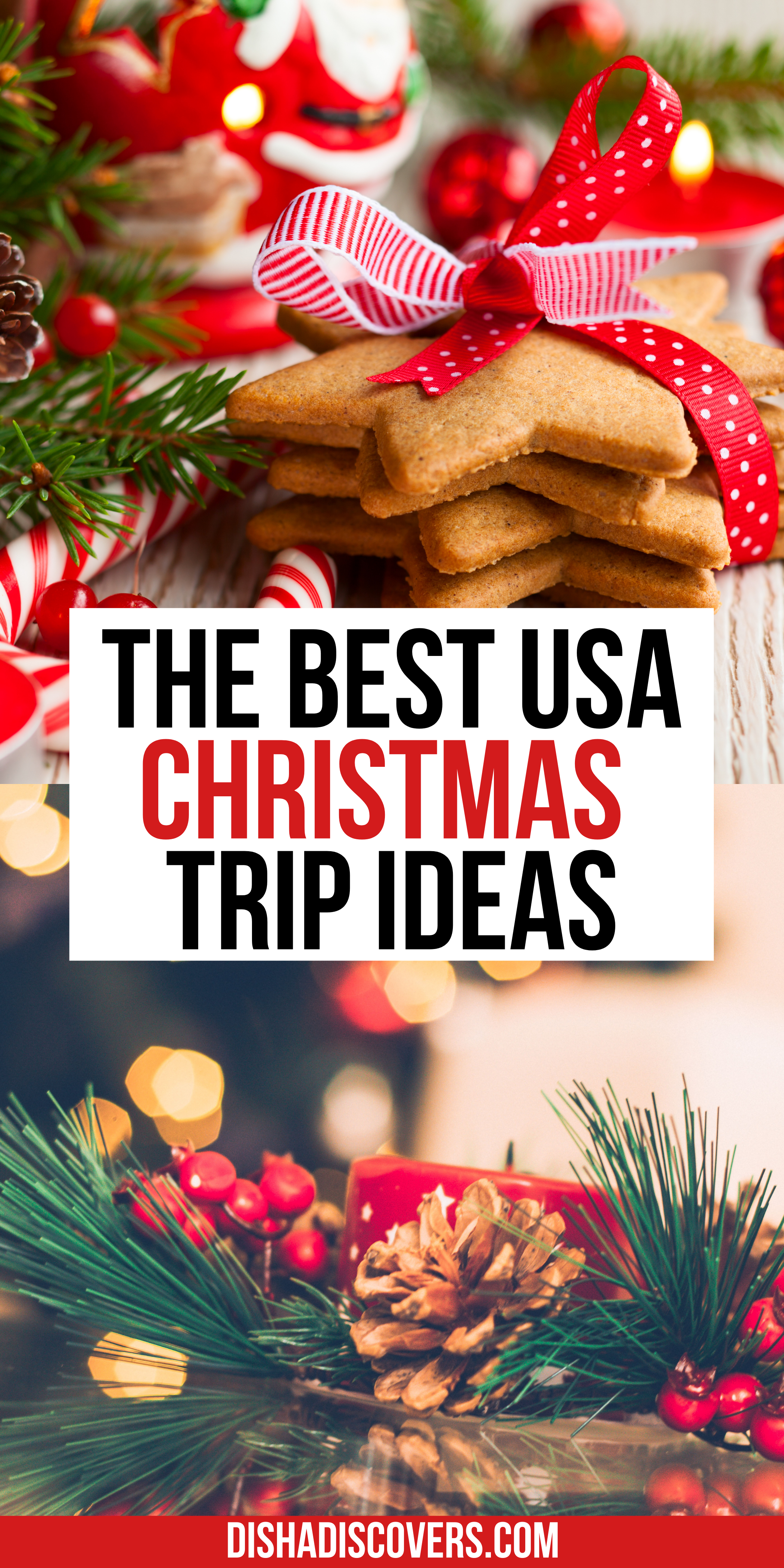 Usa Christmas Destinations 11 Of The Best Holiday Getaways In America In 2020 Christmas Travel Christmas Travel Destinations Christmas Destinations