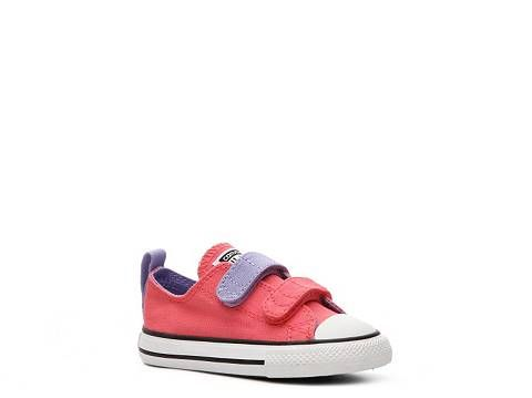 6cf7ab34f4a5 Converse Chuck Taylor All Star Double Velcro Girls Infant   Toddler Sneaker