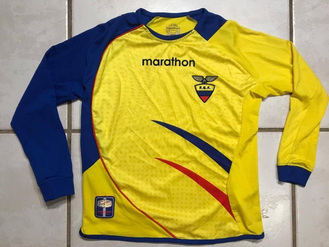 Sports Jerseys Treasures — MARATHON Ecuador National Team