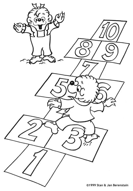 berenstain bears coloring is a coloring page from berenstain bears coloring booklet your children express their imagination when they color the - Berenstain Bears Coloring Book