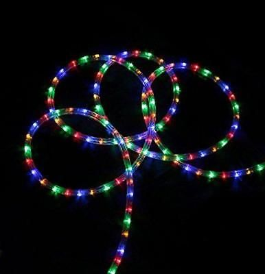288\u0027 Commericial Grade Multi-Color LED Indoor/Outdoor Christmas Rope