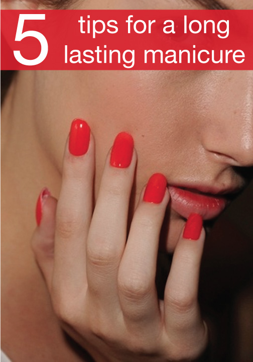 You\'ll be amazed at how simple it is to make your nail polish last ...