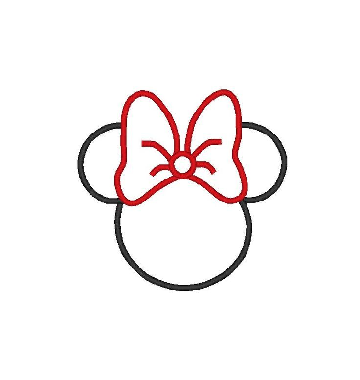 mickey mouse clip art silhouette clipart panda free clipart rh pinterest co uk minnie mouse silhouette clip art free Minnie Mouse Bow Clip Art