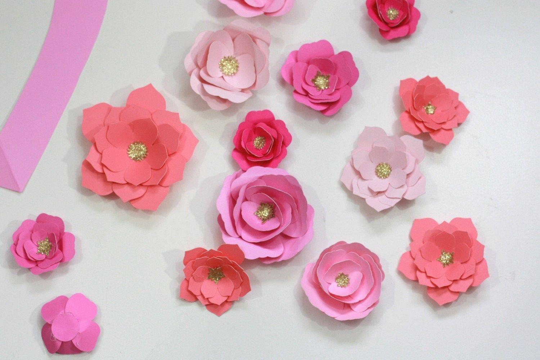 Image Result For Cricut Maker Crepe Paper Flowers Paper Flowers