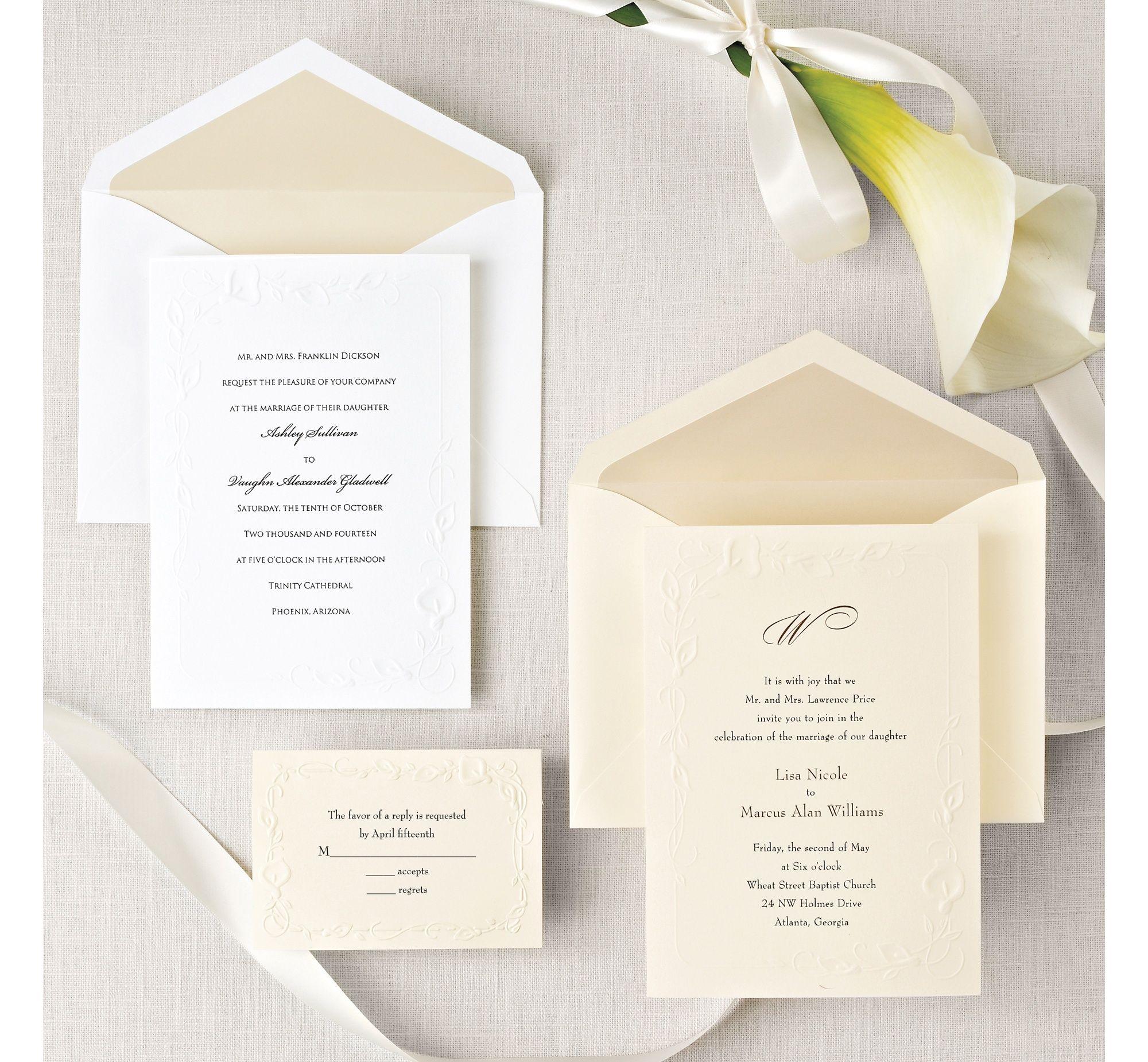 Calla Lily Beauty Wedding Invitation | Calla lilies, Floral wedding ...