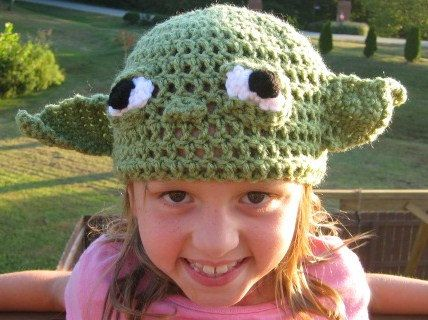 I ordered this yesterday for emilys yoda costume i cannot wait to yoda crochet beanie skullcap hat cute photo by dt1010fo