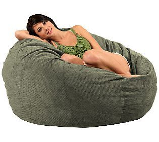 CordaRoy's Full Size Convertible Bean Bag Chair by Lori