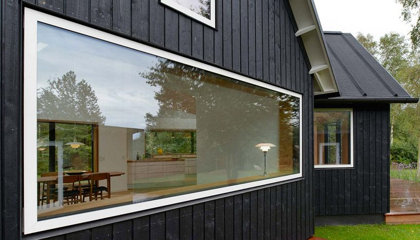 Self Build Project: Wide windows and vertical cladding options