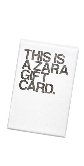 Zara Gift Card Zara Gifts Gift Card