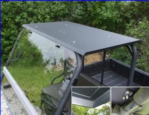 Utv Headquarters Kawasaki Mule Hard Top W Led Dome Light Dome Lighting Metal Roof Roofing