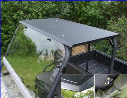 Utv Headquarters Kawasaki Mule Hard Top W Led Dome Light Dome Lighting Metal Roof Roofing